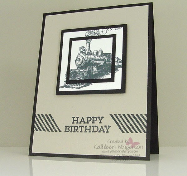 Its Masculine Monday Traveler Birthday Card And Video Stampin