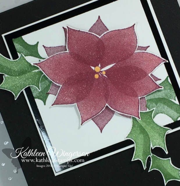 Elegant Christmas card showcasing the Stylish Christmas stamp set from Stampin' Up! by Kathleen Wingerson www.kathleenstamps.com  #stylishchristmas #SU #Stampin'Up! #kathleenstamps #KathleenWingerson  #christmascard #diychristmascard